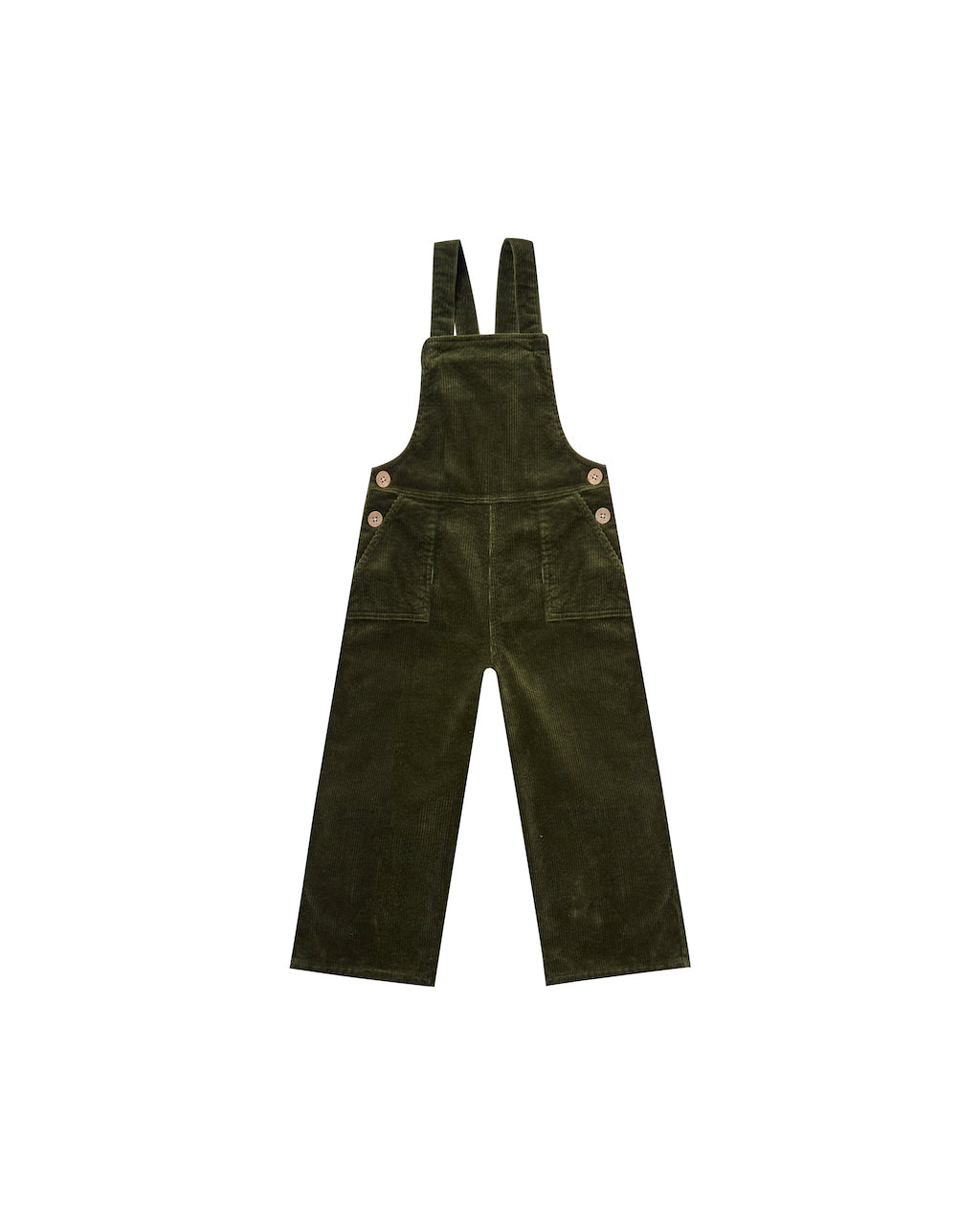 Rylee & Cru Wide Leg Overall in Forest