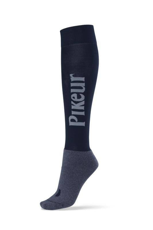 Pikeur Logo Socks in Navy