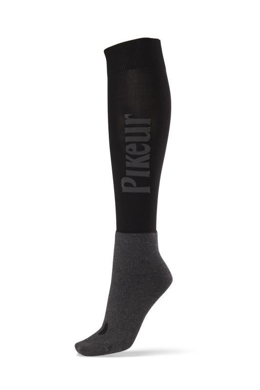 Pikeur Logo Socks in Black