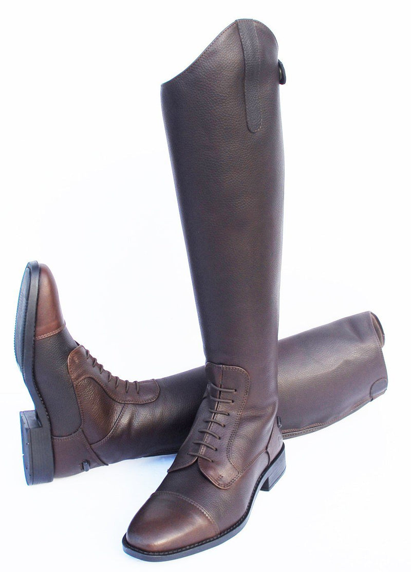 Rhinegold Luxus Long Leather Boot