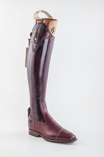 Made To Measure De Niro Burgundy Greta Boot The Riding