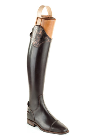De Niro Erika/01 Greta Brown Grace Boot front view