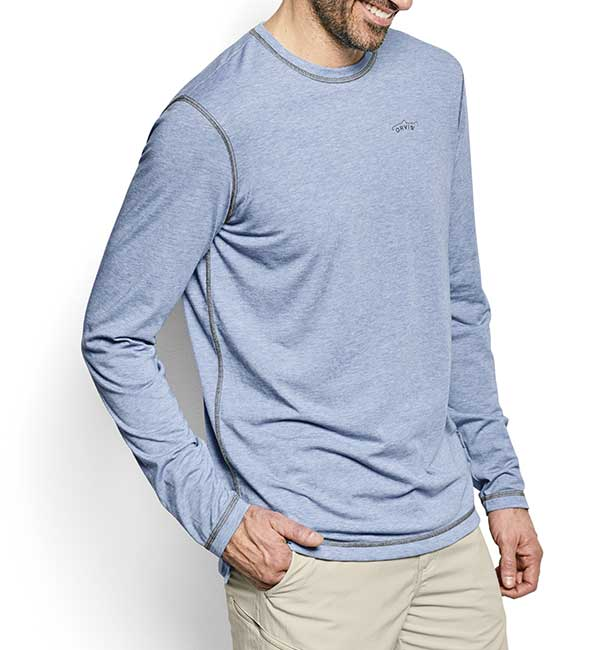 ORVIS Men's Long-Sleeved DriRelease Casting Tee