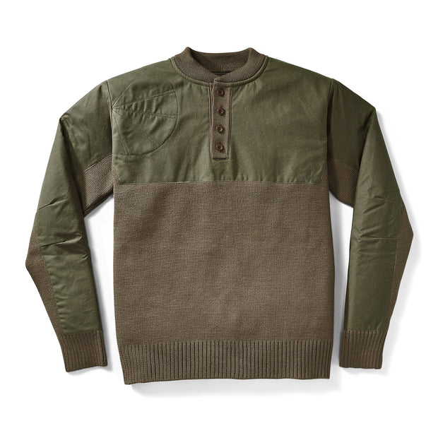 Filson Men's Henley Guide Sweater - The Painted Trout