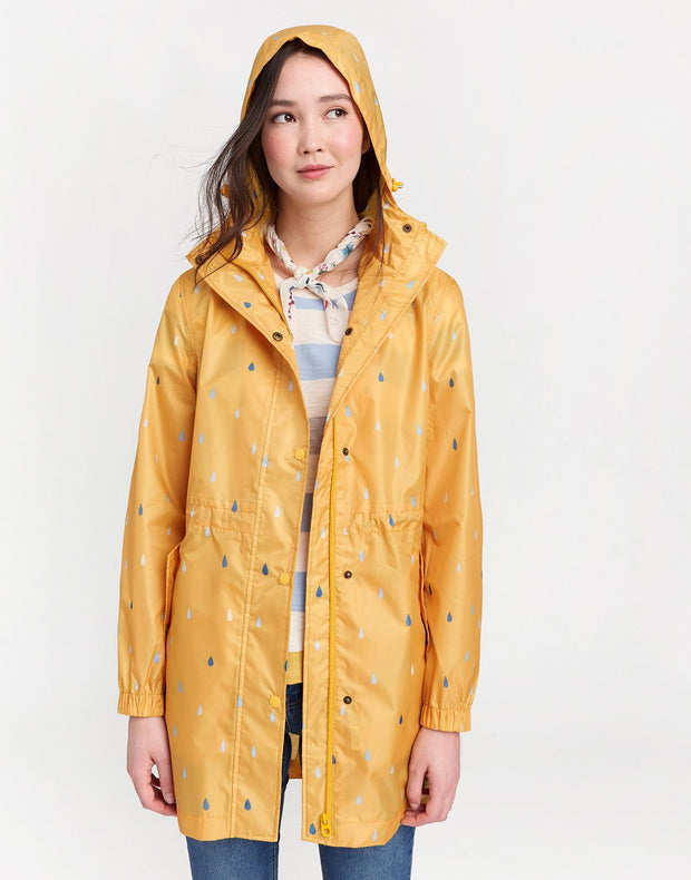 Joules Women's Golightly Packaway Waterproof Jacket