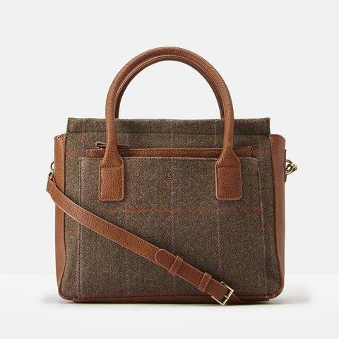 Joules Day-to-Day Handbag, Hardy Tweed
