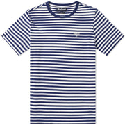 Barbour Men's Delamere Stripe Tee - Inky Blue - The Painted Trout