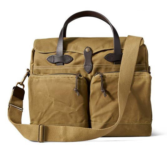 FILSON 24 Hour Tin Briefcase Tan - The Painted Trout