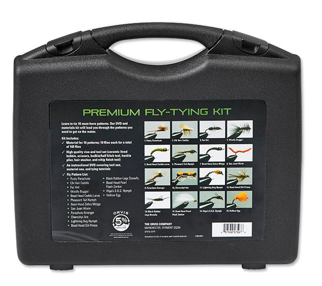 Orvis Premium Fly Tying Kit Angelsport-Köder, -Futtermittel & -Fliegen Angelsport-Artikel