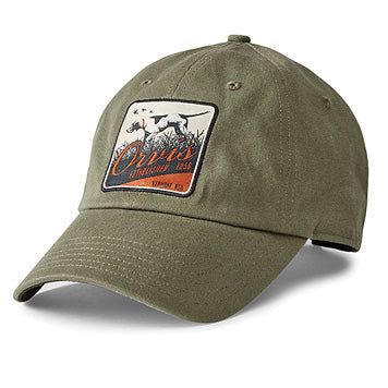 Orvis Pointer Patch Twill Hat Olive