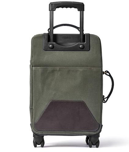 Filson Rugged Twill Rolling 4-Wheel Carry On - The Painted Trout