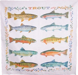 Bandanna - TEN TROUT - The Painted Trout