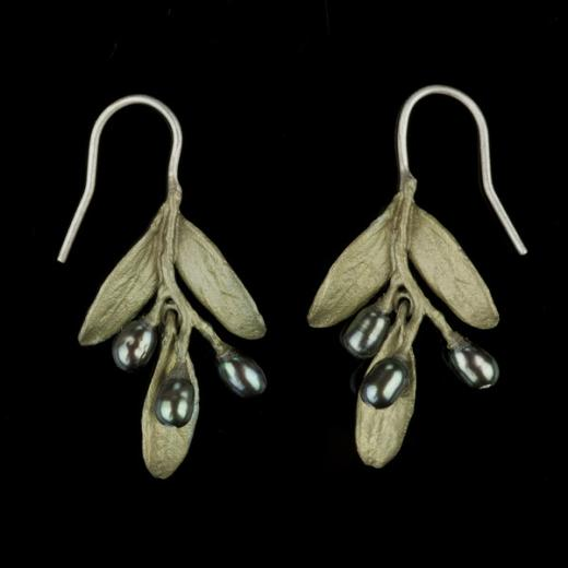 Michael Michaud Olive Earrings - Wire