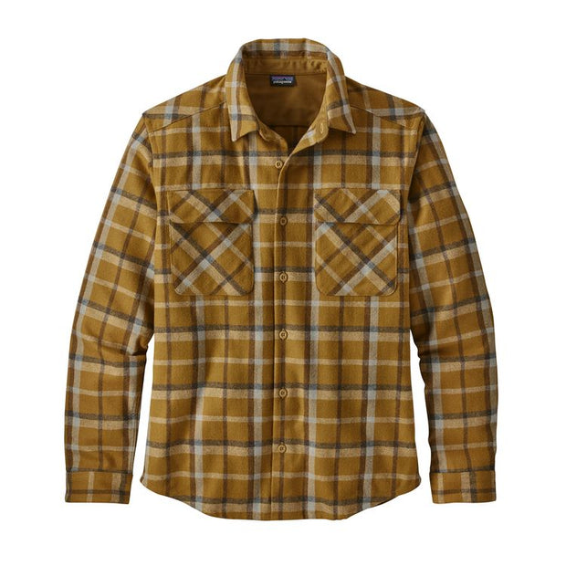 Patagonia Men's Long Sleeved Recycled Wool Shirt