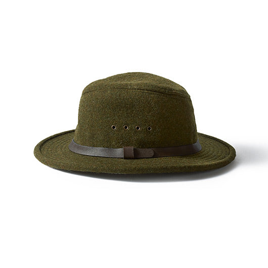 FILSON Wool Packer Hat, Forest Green - The Painted Trout