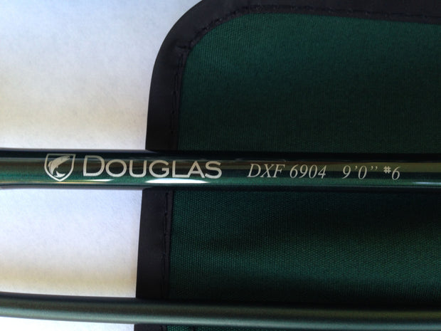 DOUGLAS DXF Fly Rods - The Painted Trout