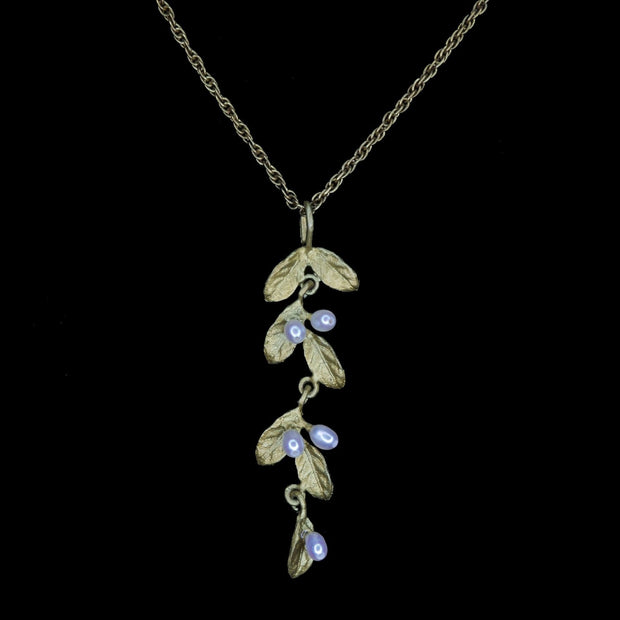 Michael Michaud Petite Leaf Necklace - Pendant