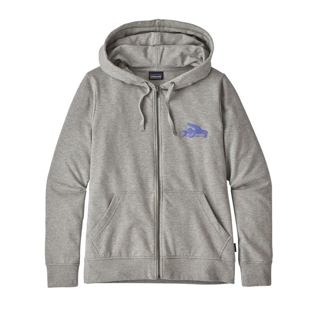 PATAGONIA Women's Small Flying Fish Ahnya Full Zip Hoody