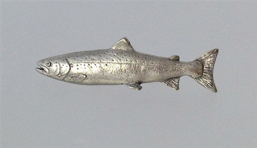 Pewter Pin: Atlantic Salmon - The Painted Trout