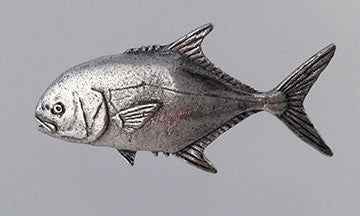 Pewter Pin: Permit - The Painted Trout