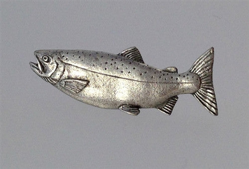 Pewter Pin: Coho Salmon - The Painted Trout