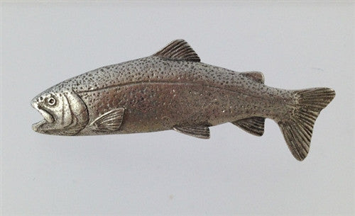Pewter Pin: Rainbow Trout - The Painted Trout