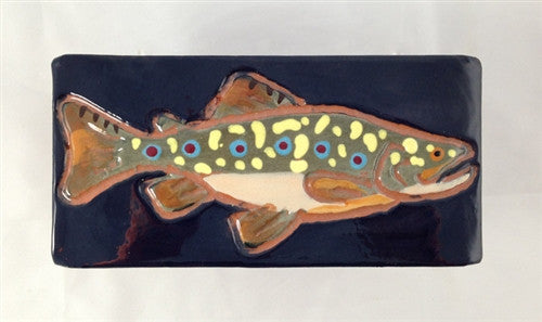 Ceramic Tile: Brook Trout - The Painted Trout