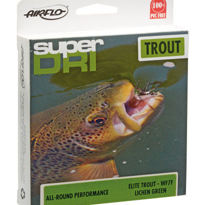 AIRFLO Super-Dri Elite Trout Fly Line - The Painted Trout