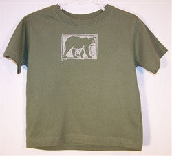 Toddler Tshirt - Forest Bear - The Painted Trout
