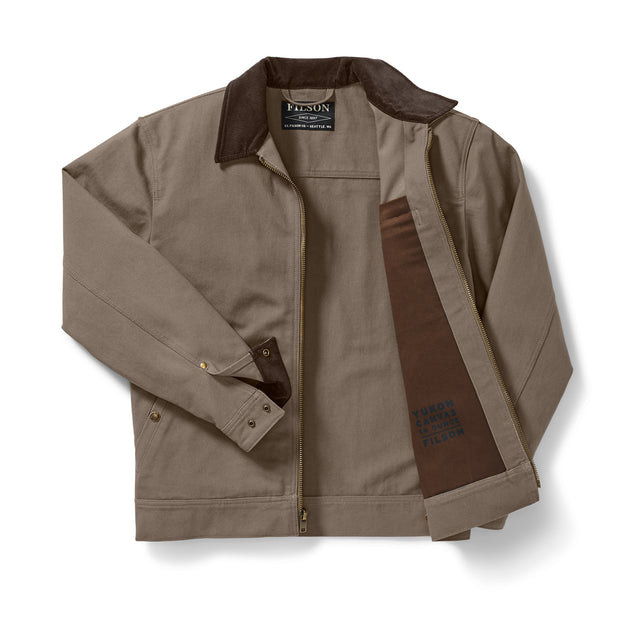 Filson Men's Tacoma Work Jacket Dark Mushroom - The Painted Trout