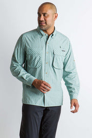 EXOFFICIO Air Strip Check Plaid Long Sleeve - The Painted Trout