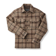 Filson Mackinaw Jac-Shirt - Taupe/Brown/Black Plaid - The Painted Trout