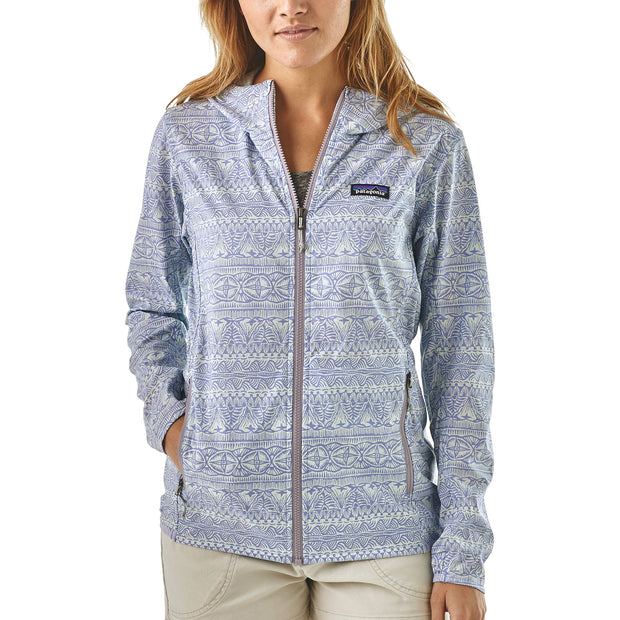 Patagonia Women's Bajadas Hoody Tradewinds Small: Light Violet Blue
