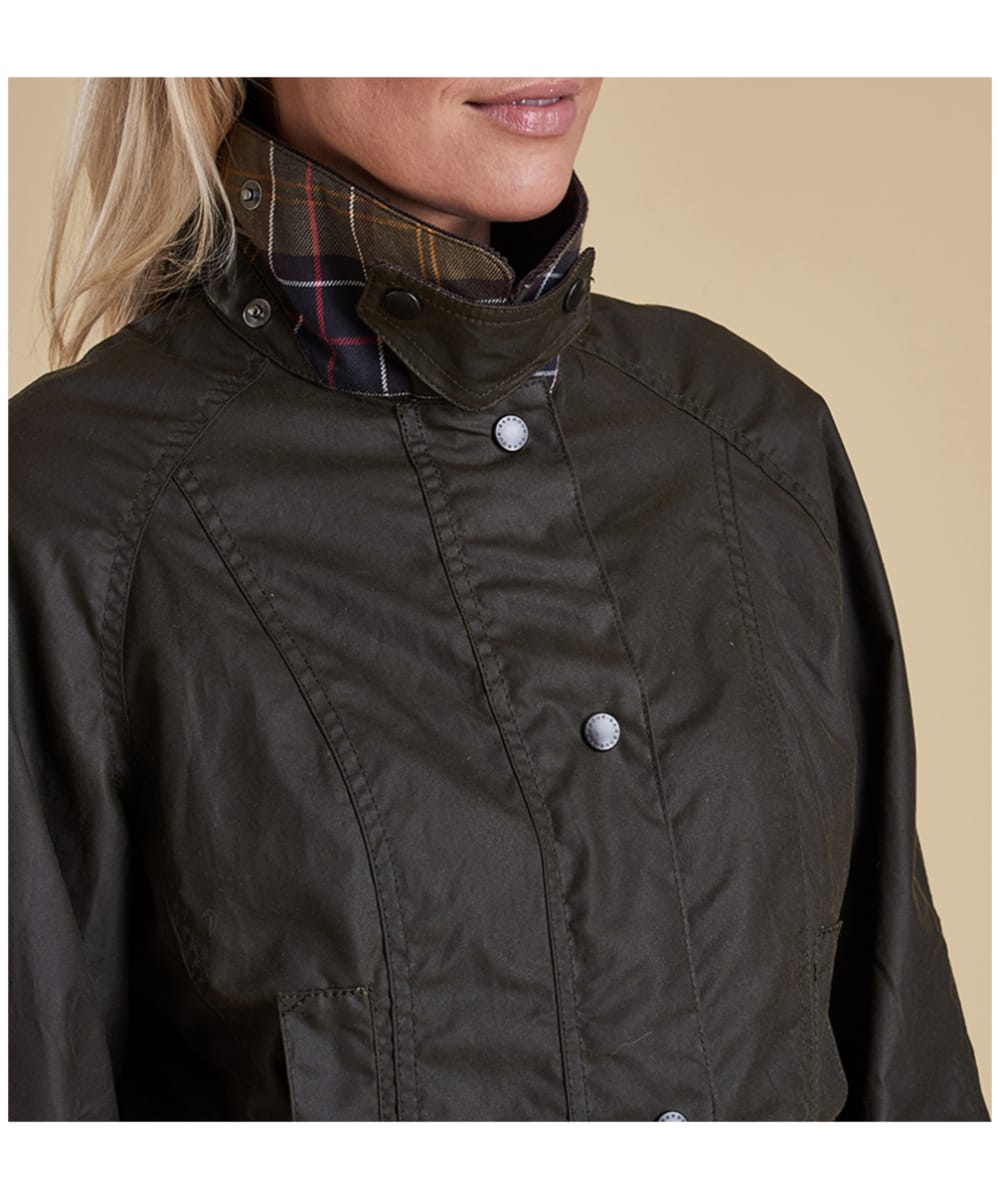 Barbour Women's Classic Beadnell Wax Jacket - The Painted Trout