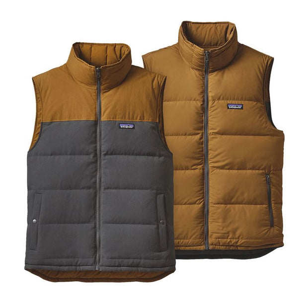 PATAGONIA Men's Reversible Bivy Down Vest - The Painted Trout