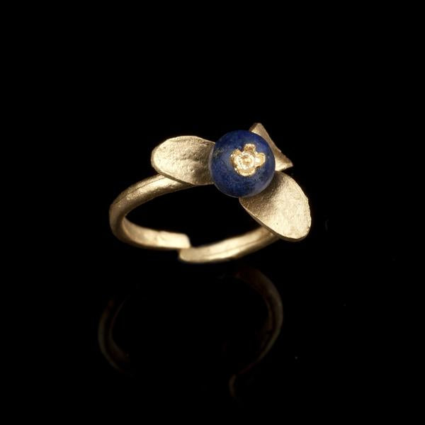 Michael Michaud Blueberry Ring - Adjustable