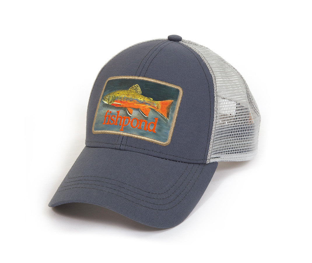 FISHPOND Brookie Trucker Hat - Dusk - The Painted Trout