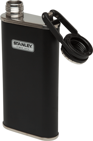 Stanley Classic Wide Mouth Flask 8oz. Matte Black