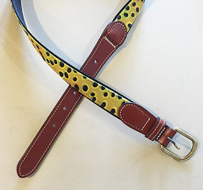 AD Maddox Belt, Cutty - The Painted Trout