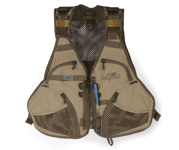 FISHPOND Flint Hills Vest - Clay - The Painted Trout