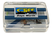 Cliff The Days Worth Fly Box - The Painted Trout