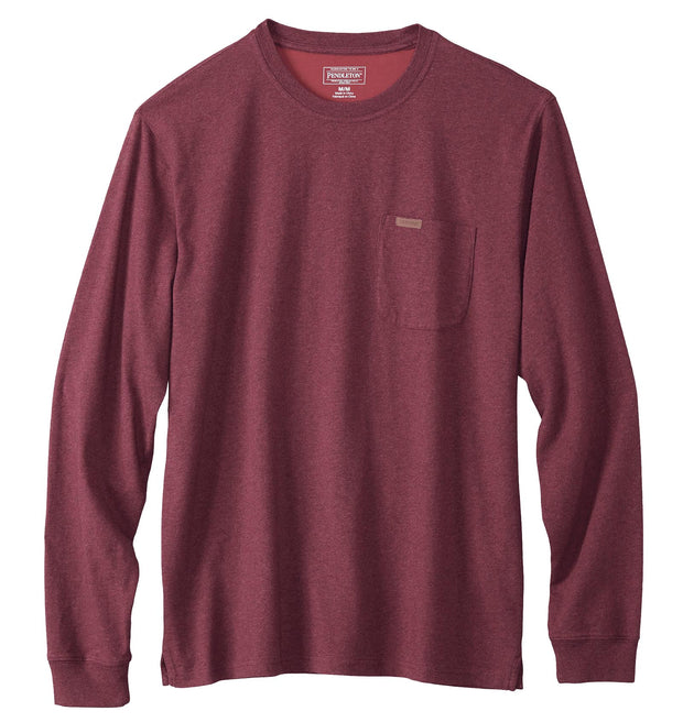 PENDLETON Men's Deschutes Long Sleeve Pocket Tee