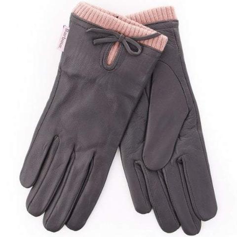 BARBOUR Women's Dovedale Gloves - Grey - The Painted Trout