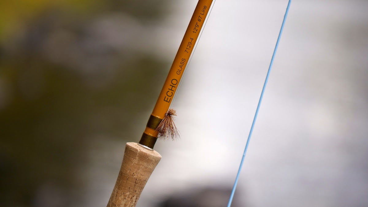 ECHO Glass Fly Rod - The Painted Trout