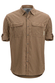 EXOFFICIO Men's BugsAway Halo Check Long-Sleeved Shirt - The Painted Trout