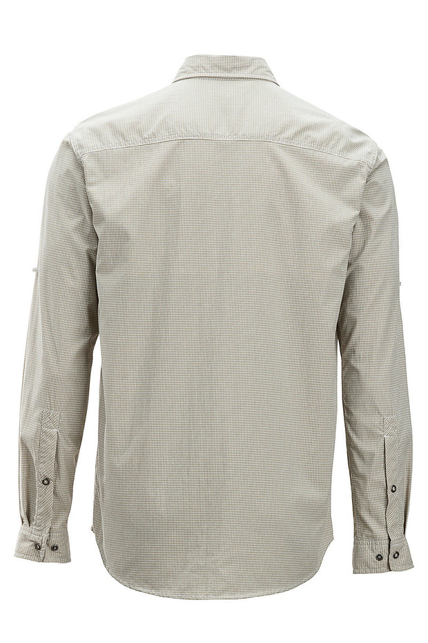 EXOFFICIO Men's BugsAway Halo Check Long Sleeve - The Painted Trout
