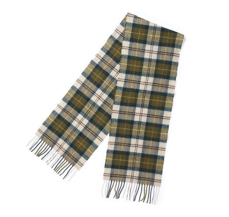 BARBOUR Tartan Lambswool Scarf - The Painted Trout