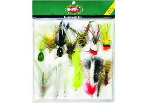 FLY ASSORTMENT LARGEMOUTH BASS DELUXE - The Painted Trout