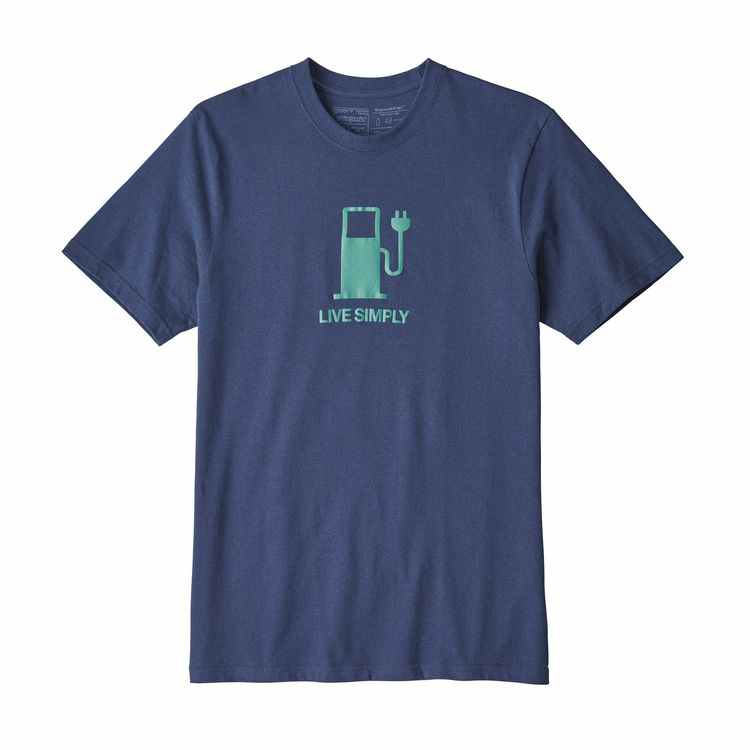 PATAGONIA Men's Live Simply Power Responsibili-Tee