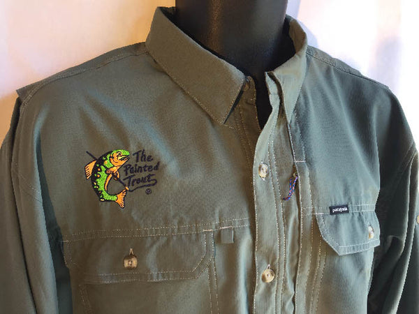 PAINTED TROUT Patagonia Sol Patrol Shirt